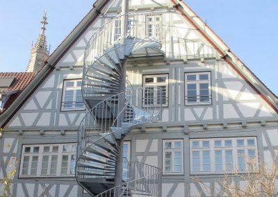 Fluchttreppe Naturkundemuseum Reutlingen