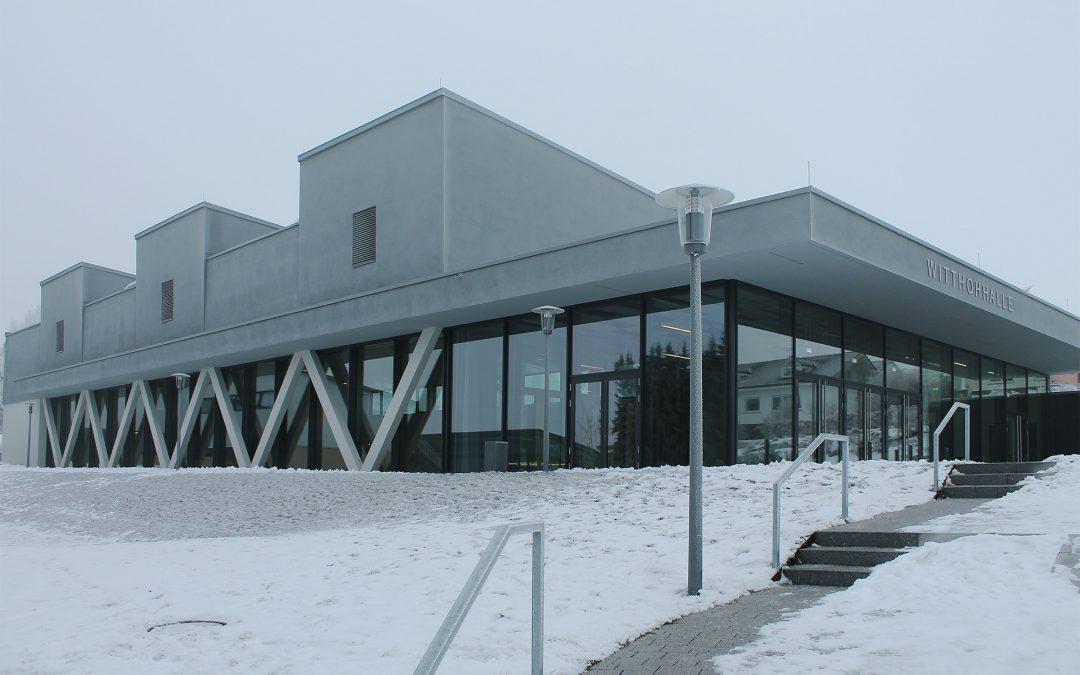 """Mehrzweckhalle """"Witthohhalle"""", Emmingen – Liptingen"""