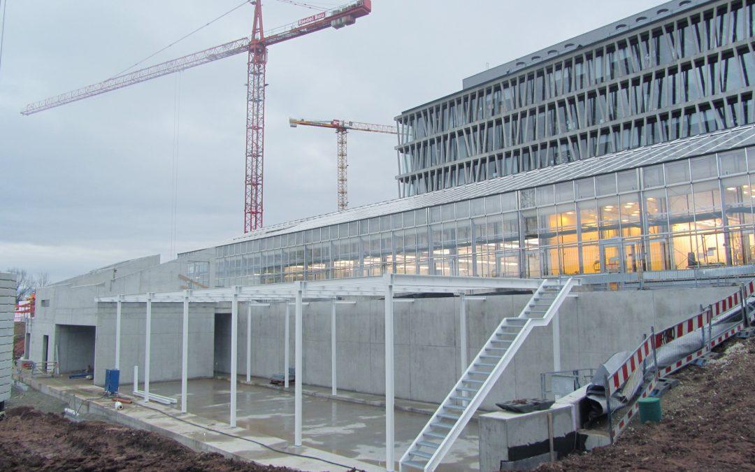 Pflanzenanzuchthalle WiC ZMBP, Tübingen